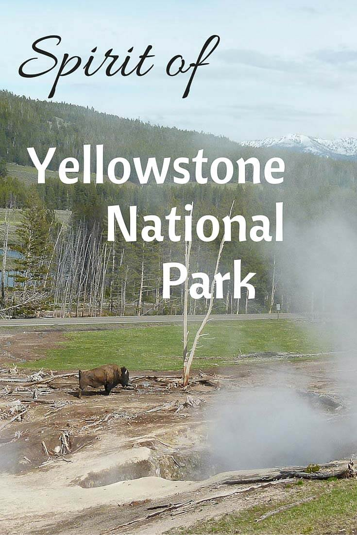 Spirit of Yellowstone national park