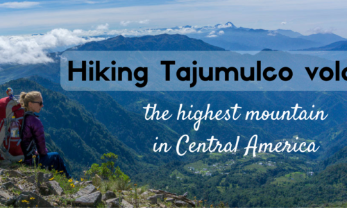 Hiking Tajumulco volcano, the highest mountain in Central America