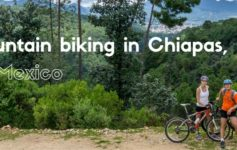 Mountain biking in Chiapas, Mexico