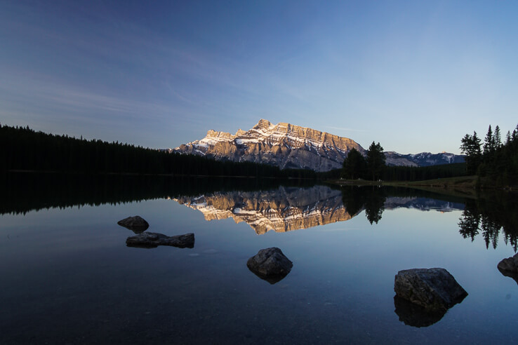50 things I'm thankful for this year - Banff national park, Canada