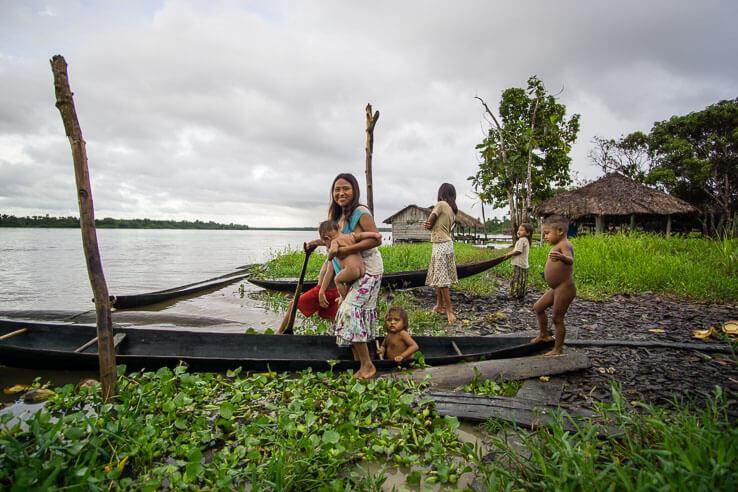 Month 5 recap of our RTW trip - Warao indigenous people in Delta Orinoco, Venezuela