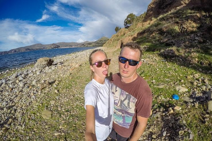 Month 7 recap of our trip around the world - Lake Titicaca, Bolivia