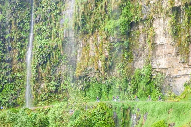 Month 8 recap of our trip around the world - Death Road, Bolivia